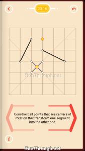 Pythagorea Walkthrough 23 Rotation Level 16