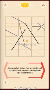 Pythagorea Walkthrough 23 Rotation Level 18