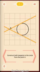 Pythagorea Walkthrough 25 Tangents Level 4