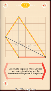Pythagorea Walkthrough 8 Trapezoids Level 4