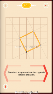 Pythagorea Walkthrough 9 Squares Level 11