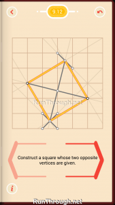 Pythagorea Walkthrough 9 Squares Level 12
