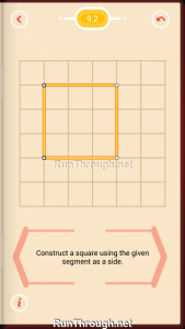 Pythagorea Walkthrough 9 Squares Level 2