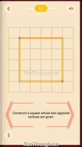 Pythagorea Walkthrough 9 Squares Level 4