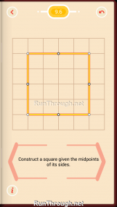 Pythagorea Walkthrough 9 Squares Level 6
