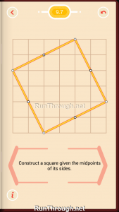 Pythagorea Walkthrough 9 Squares Level 7