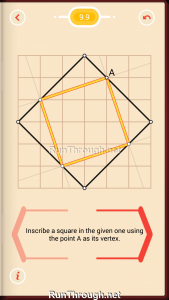 Pythagorea Walkthrough 9 Squares Level 9