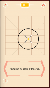 Pythagorea Walkthrough 10 Circles Level 3