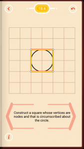 Pythagorea Walkthrough 10 Circles Level 4