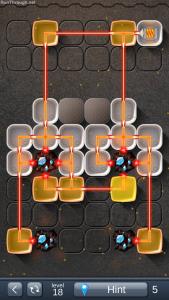 LaserBox Walkthrough Level 18 Basic