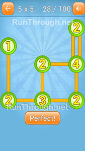 Linky Dots 5x5 Level 28