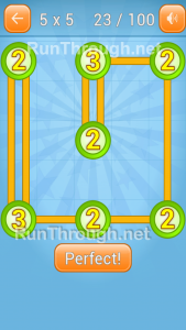 Linky Dots 5x5 Level 23