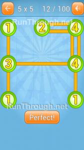 LinkyDots 5x5 Level 12