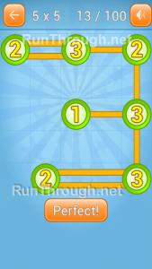 LinkyDots 5x5 Level 13