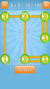 LinkyDots 5x5 Level 15