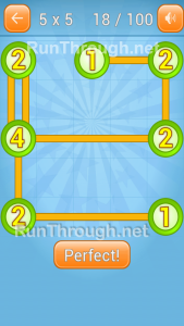Linky Dots 5x5 Level 18