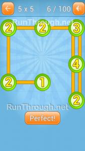 LinkyDots 5x5 Level 6