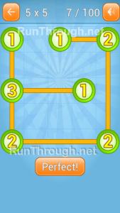 LinkyDots 5x5 Level 7