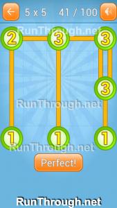 Linky Dots Walkthrough 5x5 Pack Level 41