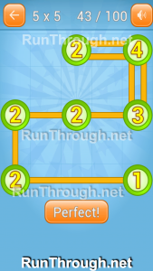 Linky Dots Walkthrough 5x5 Pack Level 43