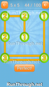 Linky Dots Walkthrough 5x5 Pack Level 44