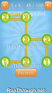 Linky Dots Walkthrough 5x5 Pack Level 45