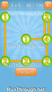 Linky Dots Walkthrough 5x5 Pack Level 46