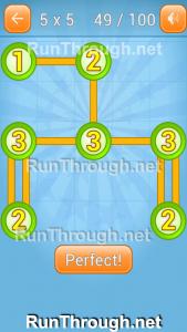 Linky Dots Walkthrough 5x5 Pack Level 49