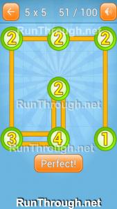 Linky Dots Walkthrough 5x5 Pack Level 51