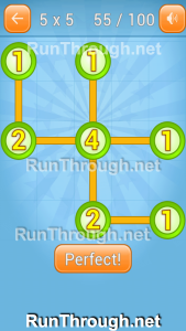 Linky Dots Walkthrough 5x5 Pack Level 55