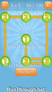 Linky Dots Walkthrough 5x5 Pack Level 56