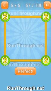 Linky Dots Walkthrough 5x5 Pack Level 57