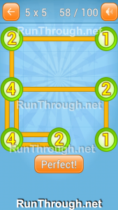 Linky Dots Walkthrough 5x5 Pack Level 58