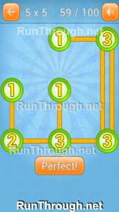 Linky Dots Walkthrough 5x5 Pack Level 59
