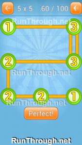 Linky Dots Walkthrough 5x5 Pack Level 60