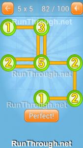 Linky Dots Walkthrough 5x5 Pack Level 82