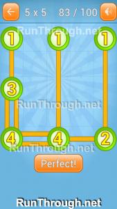 Linky Dots Walkthrough 5x5 Pack Level 83