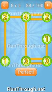 Linky Dots Walkthrough 5x5 Pack Level 84