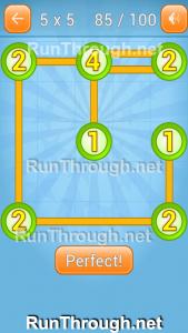 Linky Dots Walkthrough 5x5 Pack Level 85