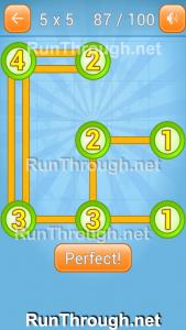 Linky Dots Walkthrough 5x5 Pack Level 87