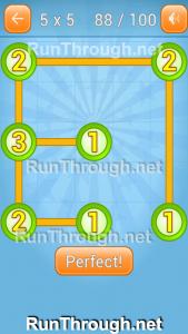 Linky Dots Walkthrough 5x5 Pack Level 88