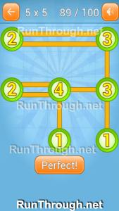 Linky Dots Walkthrough 5x5 Pack Level 89