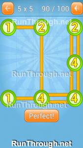 Linky Dots Walkthrough 5x5 Pack Level 90