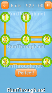 Linky Dots Walkthrough 5x5 Pack Level 92