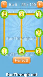 Linky Dots Walkthrough 5x5 Pack Level 93