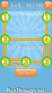 Linky Dots Walkthrough 5x5 Pack Level 95