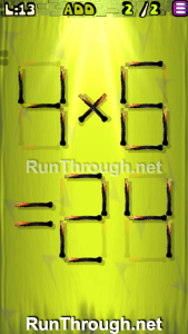 Matches Puzzle Walkthrough Episode 3 Level 13
