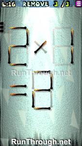 Matches Puzzle Walkthrough Episode 3 Level 16