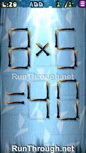 Matches Puzzle Walkthrough Episode 3 Level 20