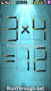 Matches Puzzle Episode 2 Level 93 Walkthrough